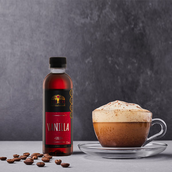 Alchemy's Vanilla coffee syrup 300ml