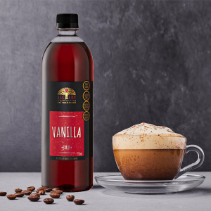 Alchemy's Vanilla coffee syrup