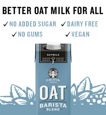 Califia Farms Oat Milk Barista Blend