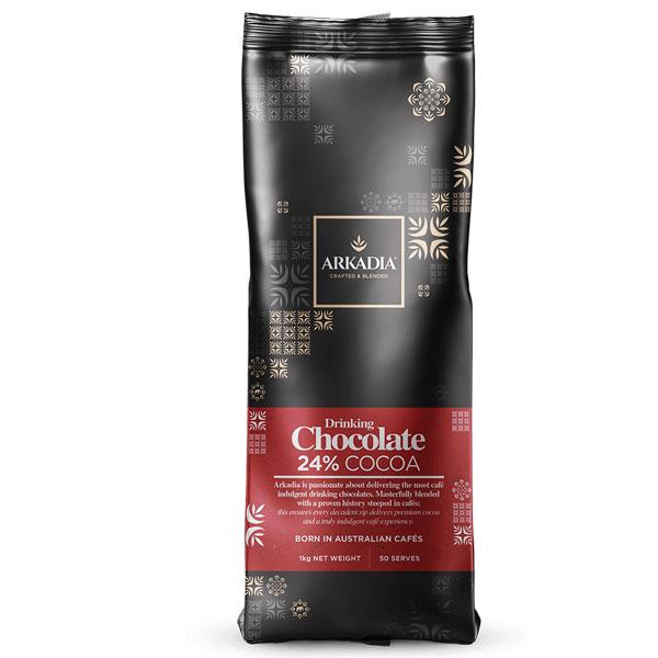 Arkadia Drinking Chocolate 24% Cocoa 1kg