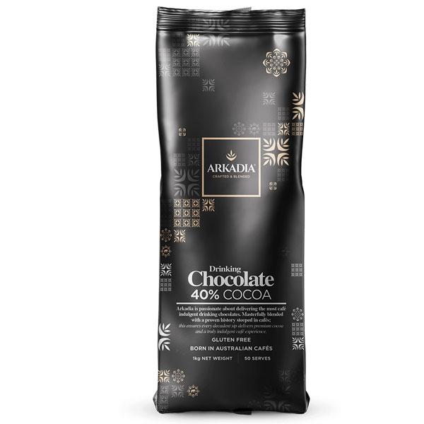 Arkadia Drinking Chocolate 40% Cocoa 1kg