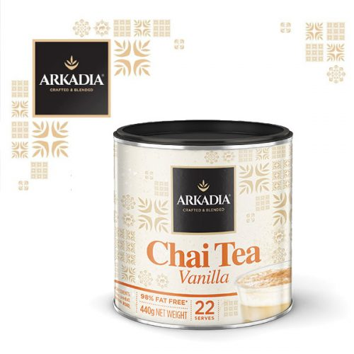 Arkadia Chai Tea Vanilla Latte